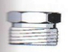 Gegenschraubteil IG (flachdichtend) in Messing