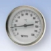 Thermometer axial